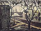 Spring Twilight 1920 By Charles Burchfield