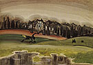 The Mysterious Woods 1919 By Charles Burchfield
