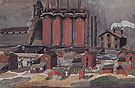 Factories 1919 By Charles Burchfield