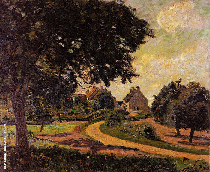 After the Rain 1887 Painting By Armand Guillaumin - Reproduction Gallery