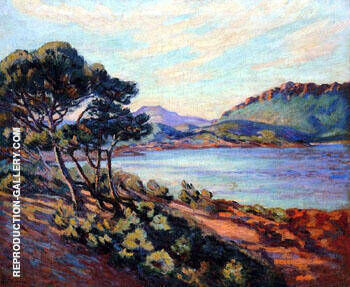Agay Bay c1910 By Armand Guillaumin