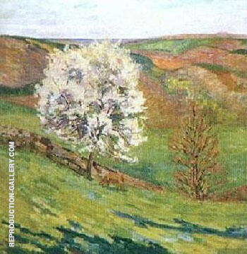 Blossom By Armand Guillaumin Replica Paintings on Canvas - Reproduction Gallery