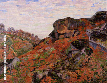 Creuse Landscape By Armand Guillaumin - Oil Paintings & Art Reproductions - Reproduction Gallery