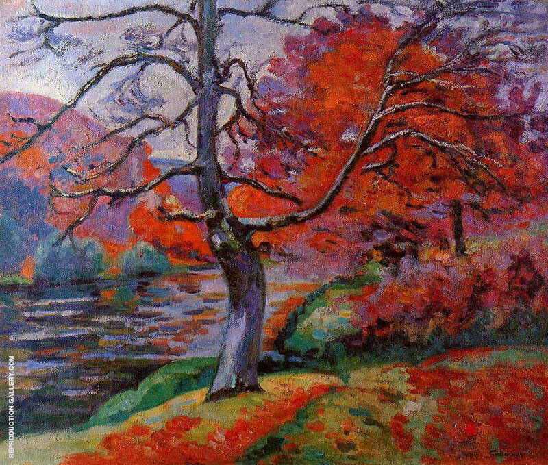 Echo Rock B By Armand Guillaumin Replica Paintings on Canvas - Reproduction Gallery