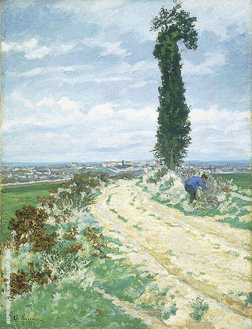 Environs de Paris A Painting By Armand Guillaumin - Reproduction Gallery