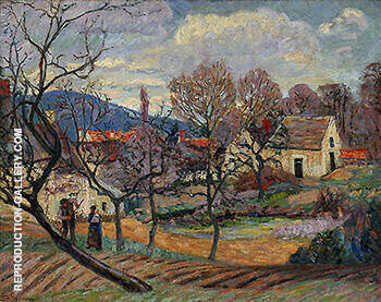 Environs de Paris B By Armand Guillaumin Replica Paintings on Canvas - Reproduction Gallery