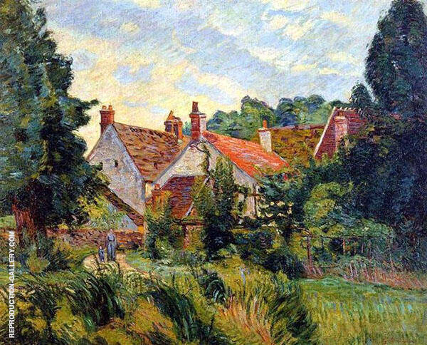 Epinay sur Orge 1884 By Armand Guillaumin Replica Paintings on Canvas - Reproduction Gallery