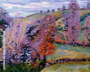 Reproduction of Grey Weather by Armand Guillaumin | Oil Painting Replica On CanvasReproduction Gallery