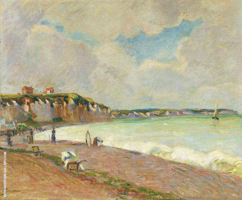 La manche Landscape Painting By Armand Guillaumin - Reproduction Gallery