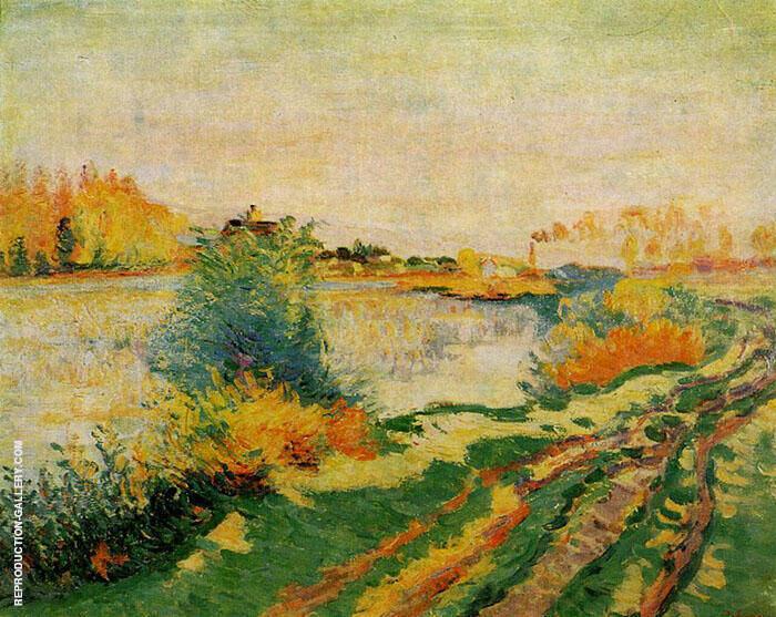 Landscape A By Armand Guillaumin