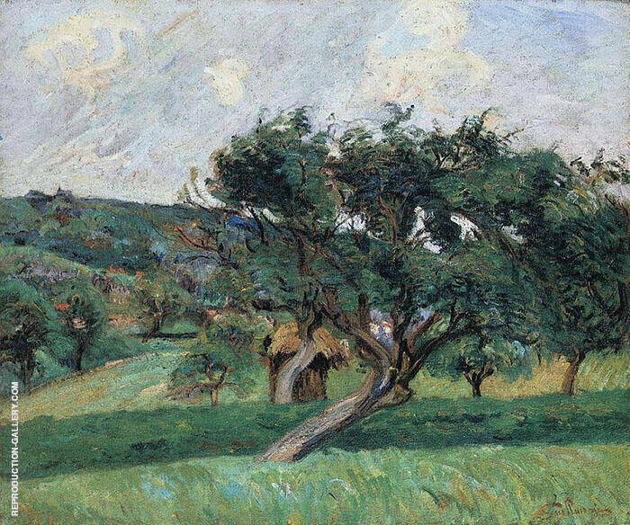 Landscape Damiette Painting By Armand Guillaumin - Reproduction Gallery