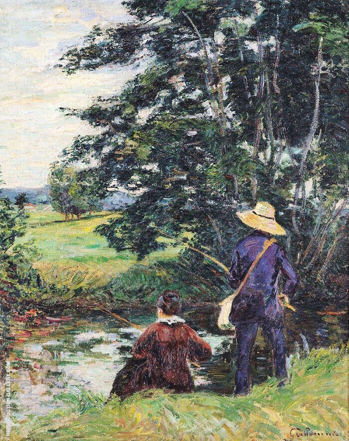 The Anglers 1885 By Armand Guillaumin