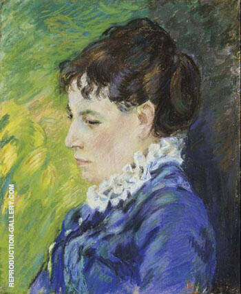 Madame Guillaumin 1894 Painting By Armand Guillaumin