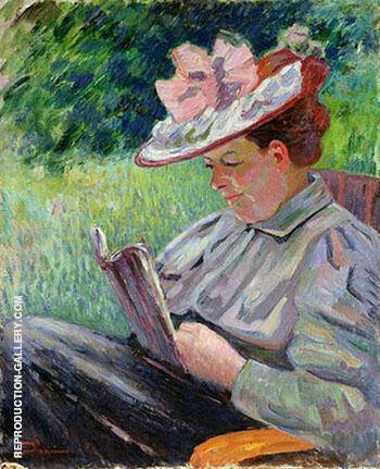 Madame Guillaumin 1895 By Armand Guillaumin Replica Paintings on Canvas - Reproduction Gallery