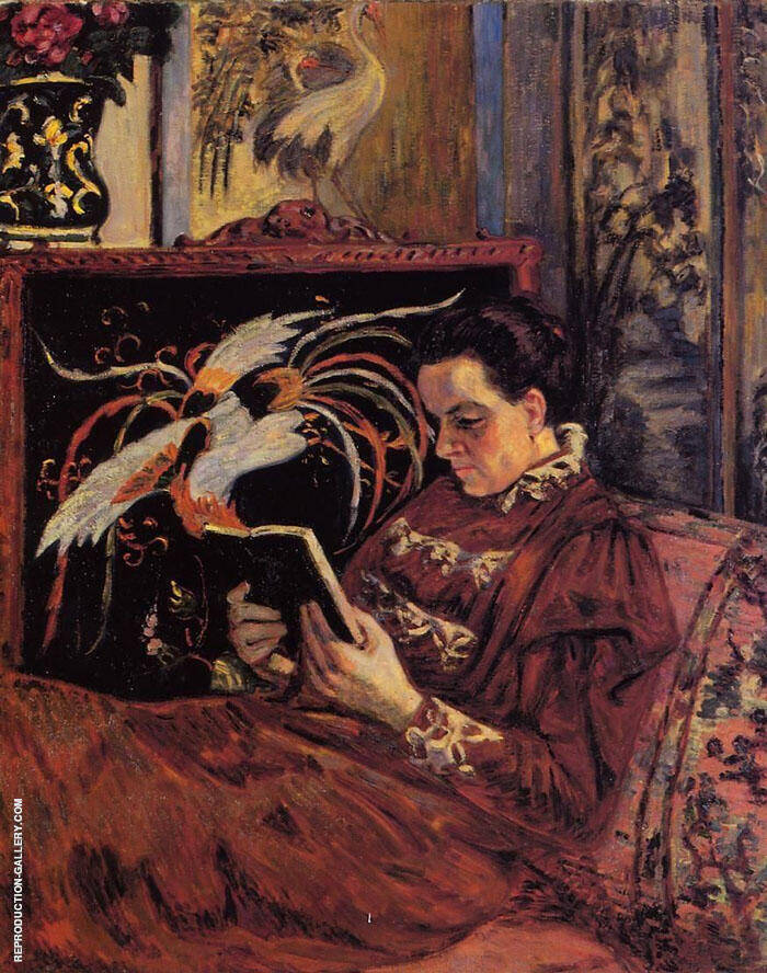 Madame Guillaumin 1898 Painting By Armand Guillaumin