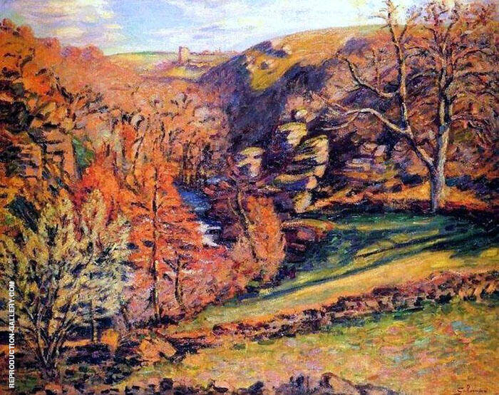 Madness Ravine 1894 By Armand Guillaumin Replica Paintings on Canvas - Reproduction Gallery