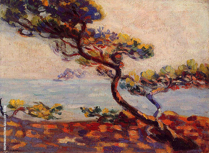 Midday in France 1910 By Armand Guillaumin Replica Paintings on Canvas - Reproduction Gallery