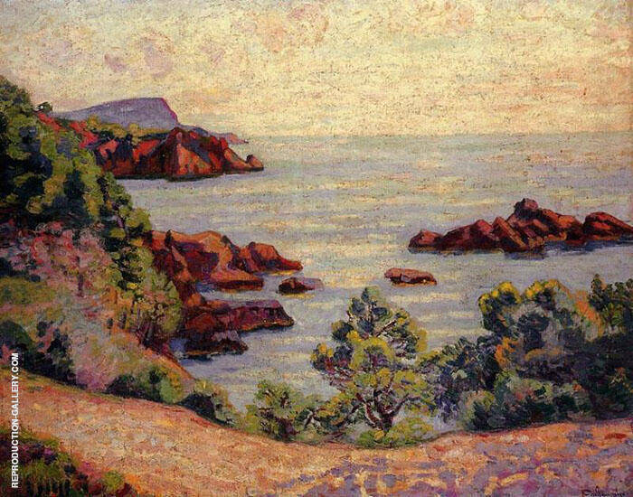 Midday Landscape 1905 Painting By Armand Guillaumin - Reproduction Gallery