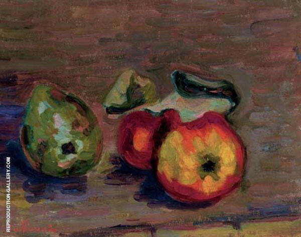 Nature Morte Painting By Armand Guillaumin - Reproduction Gallery
