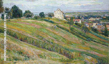 Reproduction of Paysage de Lile de France by Armand Guillaumin | Oil Painting Replica On CanvasReproduction Gallery