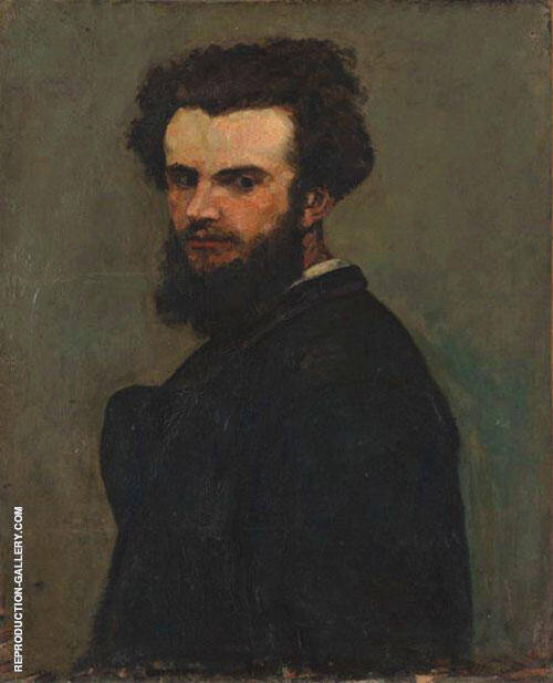 Portrait de L'artiste 1875 By Armand Guillaumin