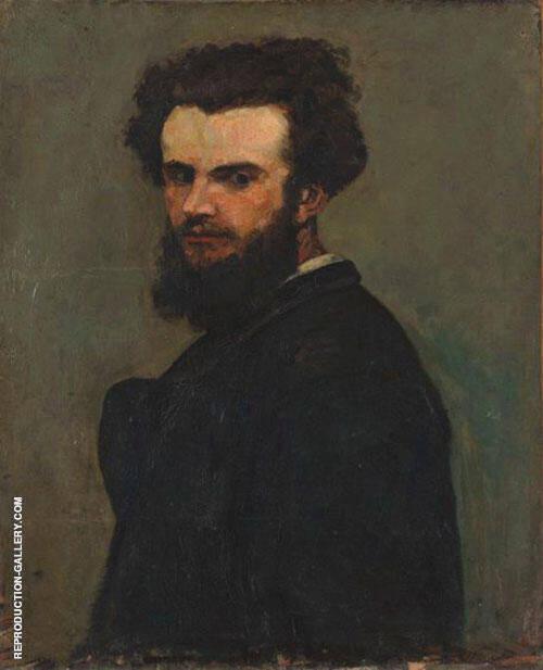 Portrait de L'artiste 1875 By Armand Guillaumin