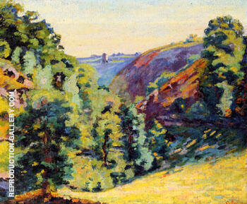 Ravine de La Sedalle Folly By Armand Guillaumin - Oil Paintings & Art Reproductions - Reproduction Gallery