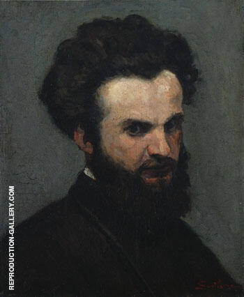 Self Portrait c1872 By Armand Guillaumin