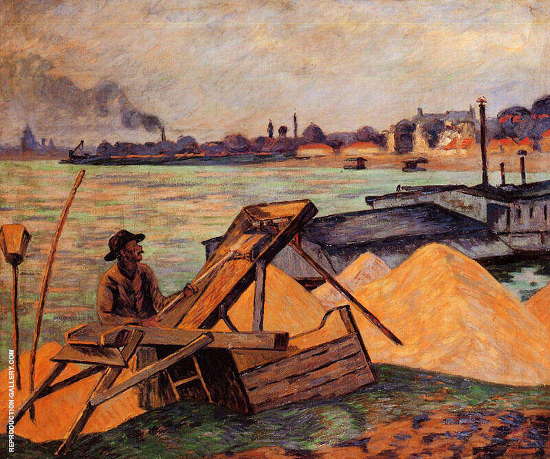 Sifting Sand Painting By Armand Guillaumin - Reproduction Gallery