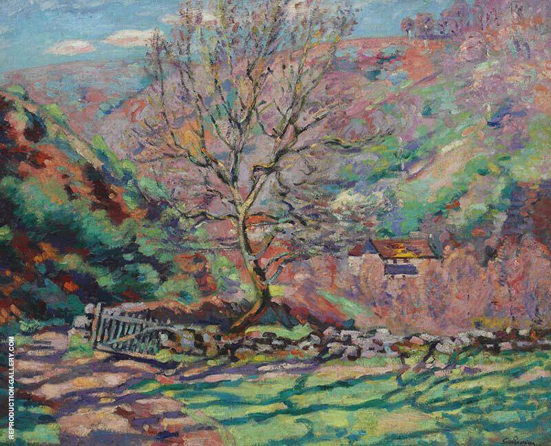 Solitude Crozant Painting By Armand Guillaumin - Reproduction Gallery