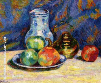 Still Life with Apples By Armand Guillaumin