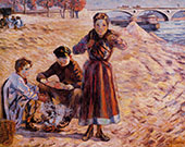 The Little Thieves 1885 By Armand Guillaumin