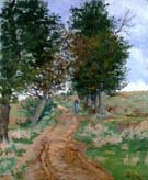 The Path in the Woods 1875 By Armand Guillaumin