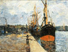 The Quay at Rouen 1882 By Armand Guillaumin