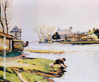 The Resevoir at Poitiers By Armand Guillaumin