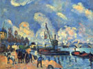 The Seine at Bercy By Armand Guillaumin