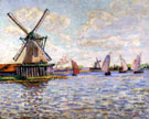 Windmills in Holland By Armand Guillaumin