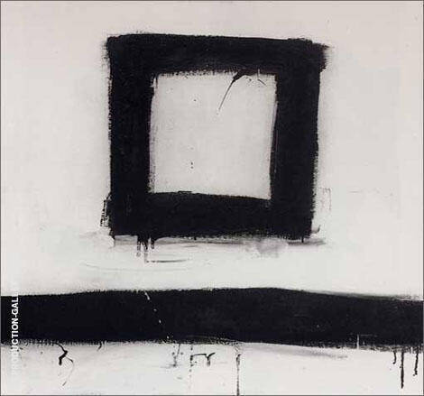 Suspended 1953 By Franz Kline - Oil Paintings & Art Reproductions - Reproduction Gallery