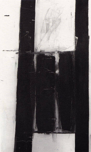 Four Square 1953 By Franz Kline Replica Paintings on Canvas - Reproduction Gallery
