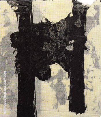 15 16 Untitled 1952 2 By Franz Kline Replica Paintings on Canvas - Reproduction Gallery