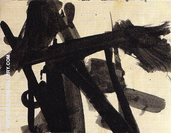 13 14 Untitled 1952 By Franz Kline Replica Paintings on Canvas - Reproduction Gallery
