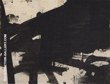 This group of drawing pls 13 16 By Franz Kline - Oil Paintings & Art Reproductions - Reproduction Gallery