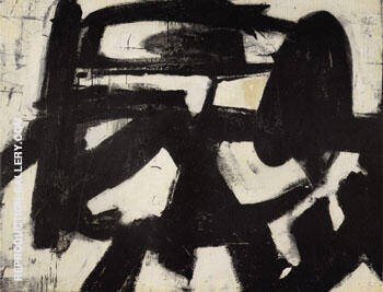 Ninth Street 1951 By Franz Kline - Oil Paintings & Art Reproductions - Reproduction Gallery