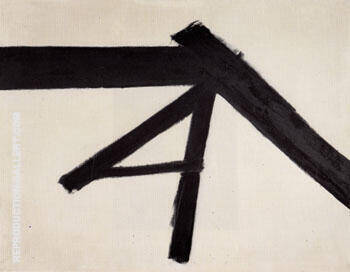 Luzeme 1956 By Franz Kline - Oil Paintings & Art Reproductions - Reproduction Gallery