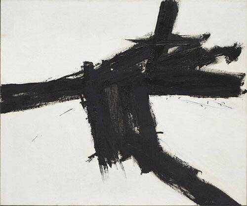Buttress 1956 By Franz Kline