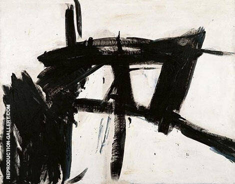 Vawdavitch 1955 By Franz Kline - Oil Paintings & Art Reproductions - Reproduction Gallery