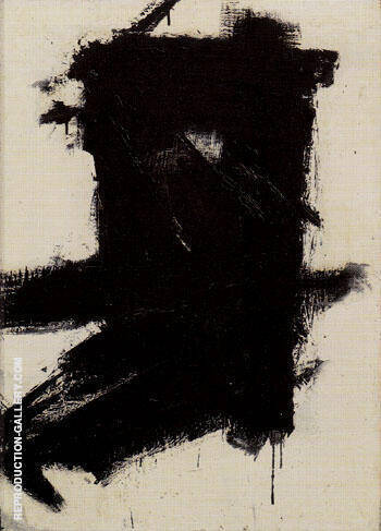 Painting No 1 1954 By Franz Kline - Oil Paintings & Art Reproductions - Reproduction Gallery