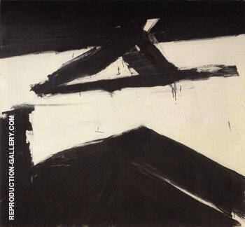 Elizabeth 1958 By Franz Kline Replica Paintings on Canvas - Reproduction Gallery