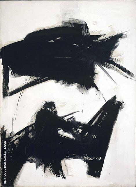 Black Sienna 1960 By Franz Kline