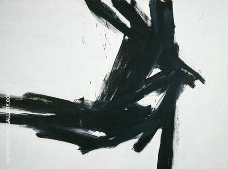 Corinthian II 1961 Painting By Franz Kline - Reproduction Gallery